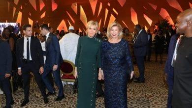 Photo de Côte d'Ivoire: les pas de danse de Brigitte Macron sur un son de Magic System remuent la toile-Vidéo