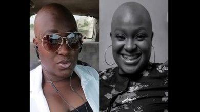 Photo de Adwowa Obeng, la ghanéenne qui n'a jamais eu de cheveux en 22 ans fait des confidences
