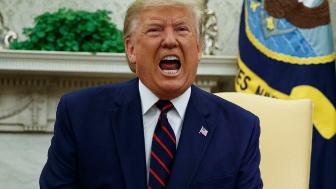 Trump, Washington, USA – 02 Oct 2019