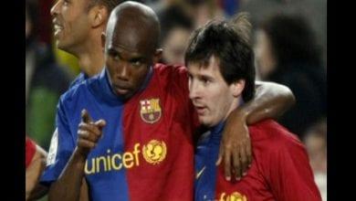 Photo de Lionel Messi révèle un conseil de Samuel Eto'o qui l'a aidé dans sa carrière