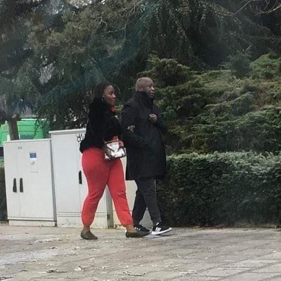 Belgique: cette photo de Gbagbo en compagnie de sa seconde épouse qui fait le buzz sur la toile