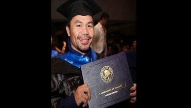 Photo de Boxe: Manny Pacquiao est diplômé en sciences politiques