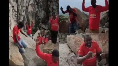 Photo de Kenya: ce que les supporters de Man.U ont fait avant le match face à Man. City vous surprendra-(vidéo)
