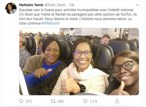 Nathalie Yamb: Les raisons de son expulsion de la Côte d'Ivoire