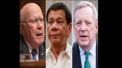 Photo de Philippines: le président Duterte interdit d'entrée dans le pays deux sénateurs américains