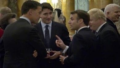Photo de Vidéo: Emmanuel Macron, Boris Johnson et Justin Trudeau filmés entrain de se moquer de Trump?