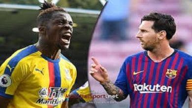 Photo de Football: Wilfried Zaha meilleur que Messi dans ce domaine