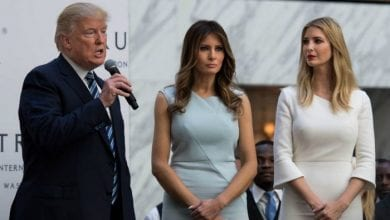 Photo de Melania entretient des relations tendues avec Donald Trump et Ivanka
