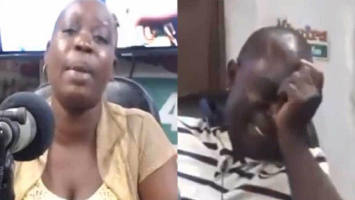 Comment Réagit Une Femme Trompée ghana: un homme pleure à la radio alors que sa femme révèle