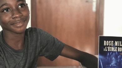 Photo de Culture : A 12 ans, Yvan Adepo est le plus jeune écrivain ivoirien