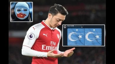 Photo de Mesut Ozil condamne le mauvais traitement infligé aux musulmans en Chine, Arsenal réagit