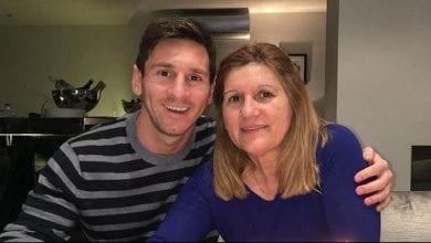 Photo de Lionel Messi: sa mère le critique durement après son 6e ballon d'Or