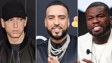 Photo de French Montana clashe 50 cent et publie une photo de lui embrassant Eminem