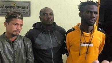 Photo de Bangladesh: deux footballeurs ghanéens arrêtés par la police