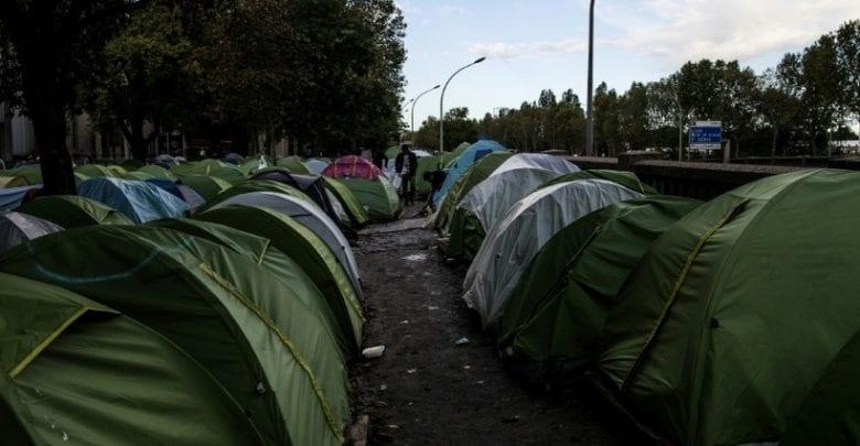 Camp de migrant