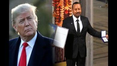 """Photo de Prix Nobel de la paix 2019 : """"quelqu'un d'autre a eu mon Prix Nobel de la paix"""" dixit Donald Trump"""