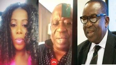 Photo de Ghana: Une vidéo romantique du ministre de la Sécurité nationale publiée par sa maîtresse