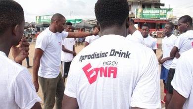 Photo de Abidjan : Action promotionnelle de la boisson énergisante Etna à Yopougon (Vidéo)