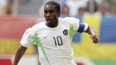 Photo de Okocha révèle pourquoi il n'a jamais remporté le prix du meilleur joueur africain et mondial