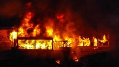 Photo de Sénégal: un incendie dans un entrepôt de l'armée cause des dégâts importants