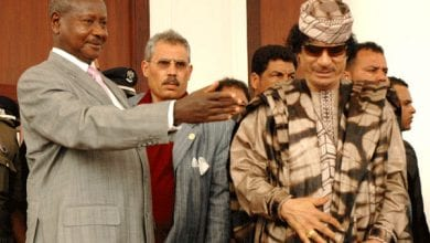 Photo de Yoweri Museveni : « les pays africains n'auraient pas dû permettre aux pays occidentaux d'attaquer la Libye »