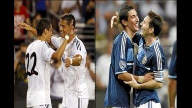 Photo de Di Maria : « J'ai joué avec Messi, Ronaldo, Ibrahimovic et Rooney. Leo est le meilleur »