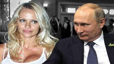 Photo de Russie: Pamela Anderson adresse une lettre ouverte à Vladimir Poutine