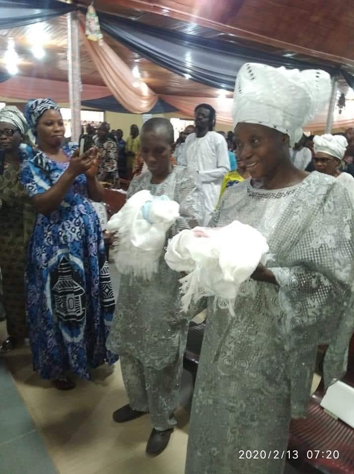 Un couple nigérian accueille des jumeaux 31 ans après leur mariage