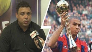 Photo de Liga: 20 ans après, Ronaldo révèle les dessous de son départ du FC Barcelone