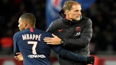 """Photo de PSG-Montpellier : Mbappé clashé sur Twitter par les fans après son geste """"déplacé"""""""