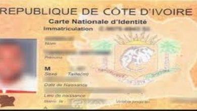 Photo de Côte d'Ivoire: voici les 4 étapes pour avoir sa nouvelle carte nationale d'identité