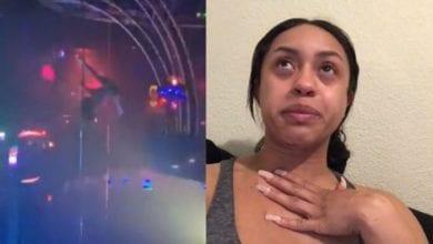 Photo de USA: une strip-teaseuse chute de 6 mètres et se casse la mâchoire…La suite vous surprendra!