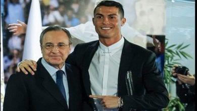 Photo de Real Madrid: le message de Florentino Pérez à Cristiano Ronaldo