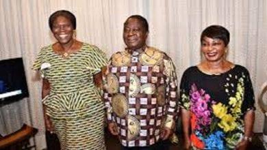 Photo de Politique: Simone Gbagbo en tête à tête avec le couple Bédié