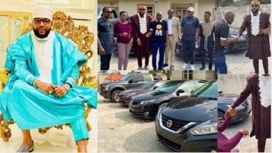 Photo de Nigeria: un milliardaire fête son anniversaire en offrant à ses employés des voitures de luxe