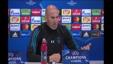 Photo de Zinedine Zidane réagit à la suspension de Manchester City