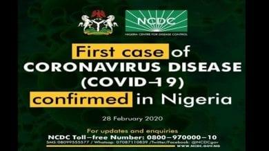 Photo de Les Nigérians réagissent à la confirmation du premier cas de coronavirus: « Le Dieu qui nous a sauvé d'Ebola nous sauvera du coronavirus »