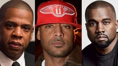 Photo de Booba lynché par les internautes après ses propos contre Jay-Z et Kanye West