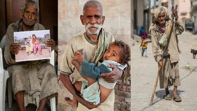 """Photo de """"Le père le plus âgé du monde"""" qui a eu un enfant à 96 ans meurt dans un incendie à 104 ans"""