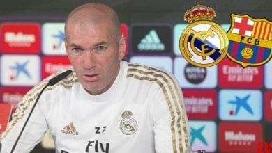 Photo de Liga: les propos  peu rassurants de Zidane avant le clasico