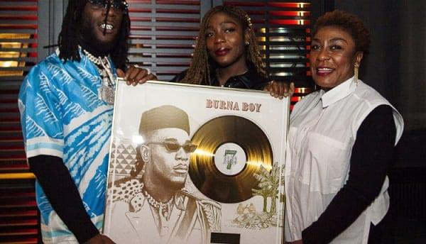 Burna Boy récompensé en France pour son titre «On The Low»