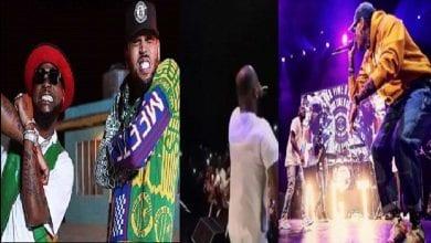 Photo de Chris Brown surprend Davido sur scène à Los Angeles: Vidéos