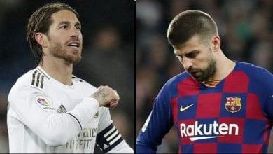 Photo de Clasico-« J'ai vu l'un des pires Real Madrid en première période »: Ramos répond à Piqué