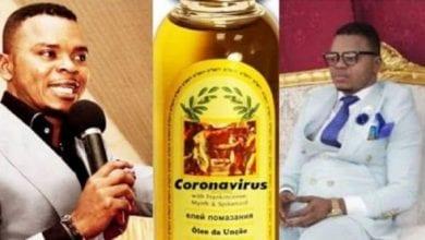 Photo de Ghana: un pasteur vend de l'huile sainte de coronavirus aux membres de son église
