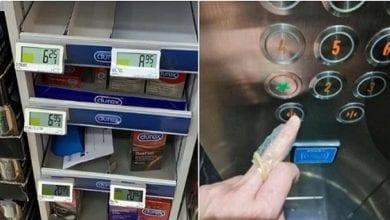 Photo de Coronavirus: En panique, ils achètent des préservatifs pour se protéger contre l'épidémie.