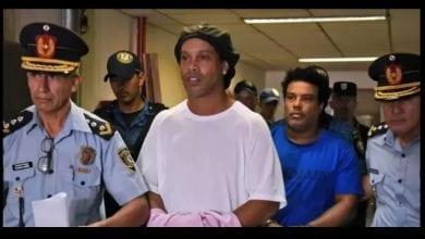 Photo de Ronaldinho: les choses se compliquent pour le brésilien à cause du Coronavirus