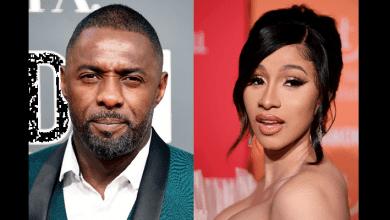 Photo de Accusé d'avoir été payé pour dire qu'il est atteint du coronavirus, Idris Elba clashe Cardi B. Elle lui répond-(vidéo)