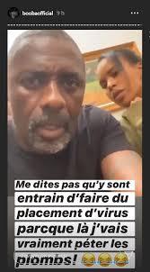 Idriss Elba testé positif au Covid 19: Booba réagit-Photos