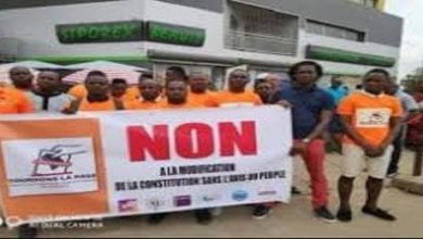 Photo de Côte d'Ivoire: des jeunes opposés à la modification de la constitution interpellés par la police