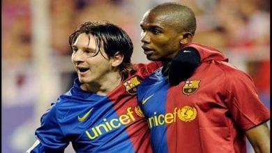 Photo de Football: Eto'o s'exprime sur l'avenir de Lionel Messi au Barça